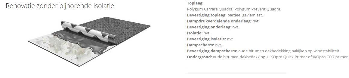 Polygum roofing
