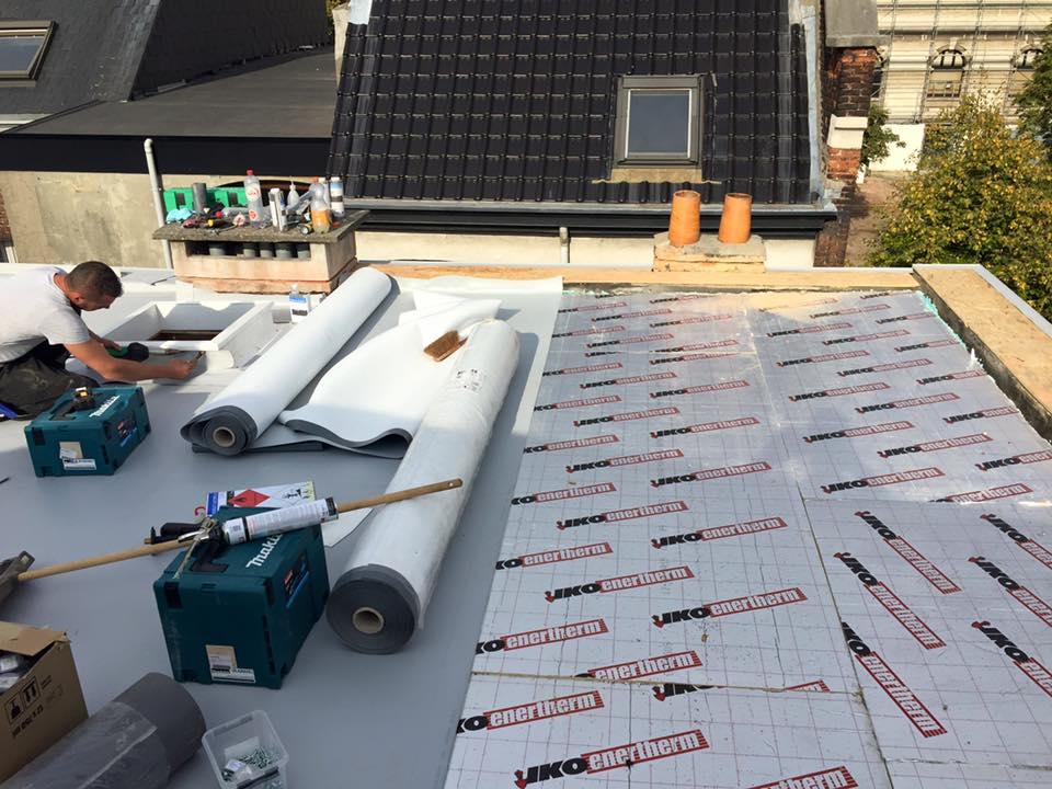 Je plat dak isoleren met pir isolatie voor platte daken