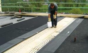 EPDM gekleefd rubber-dakbedekking voor plat dak