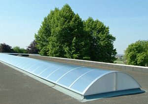 lichtstraat voor plat dak