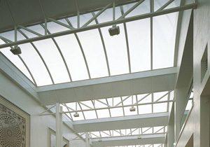 polycarbonaat lichtstraat