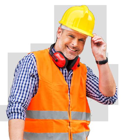 a dakwerken arbeider
